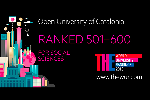 It classifies us in the 501-600 bracket out of the total number of institutions analysed in the ranking